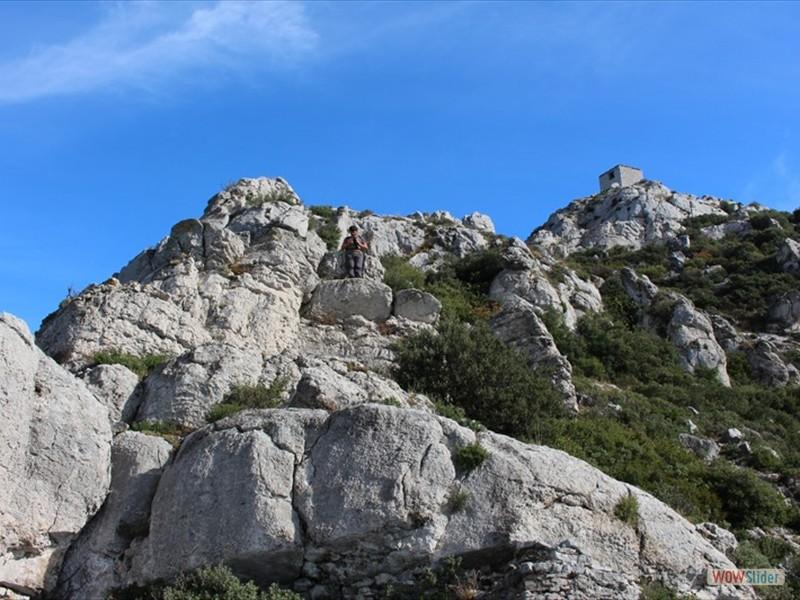 Les Alpilles - La tour des Opiés (06)